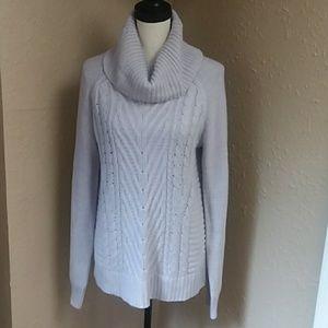 ELLE cozy cowl neck sweater size large NWOT
